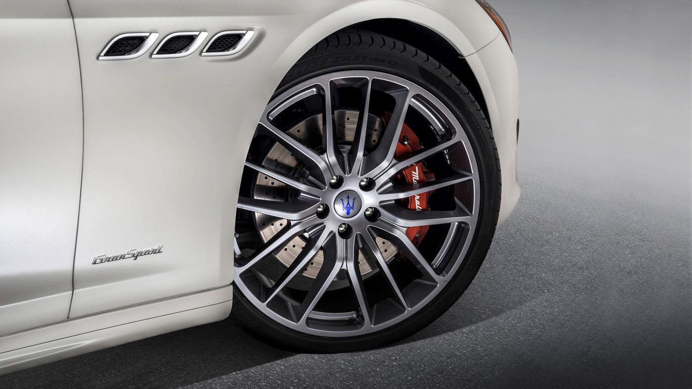 Maserati Quattroporte GranSport - Bianco- Détail roue