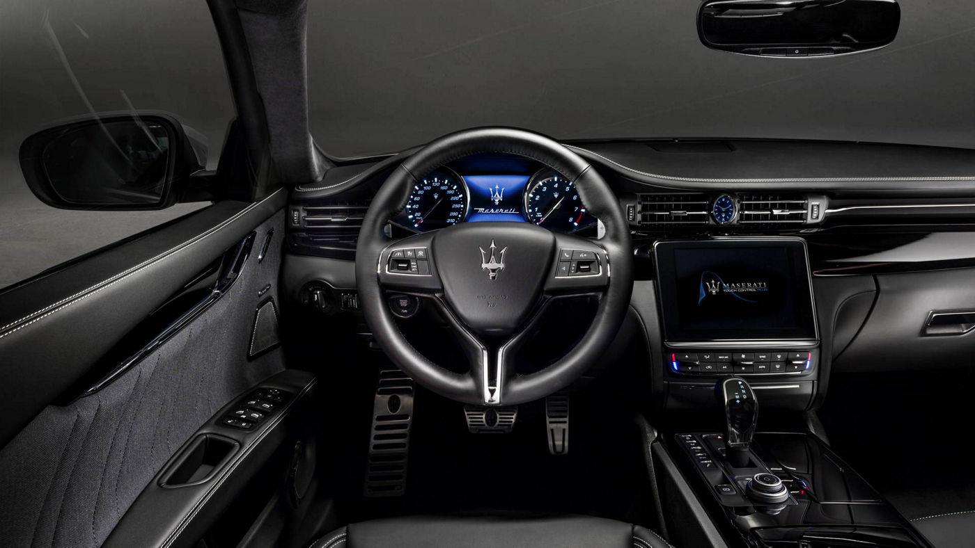 Maserati Quattroporte Gran Lusso Ausstattung Armaturenbrett