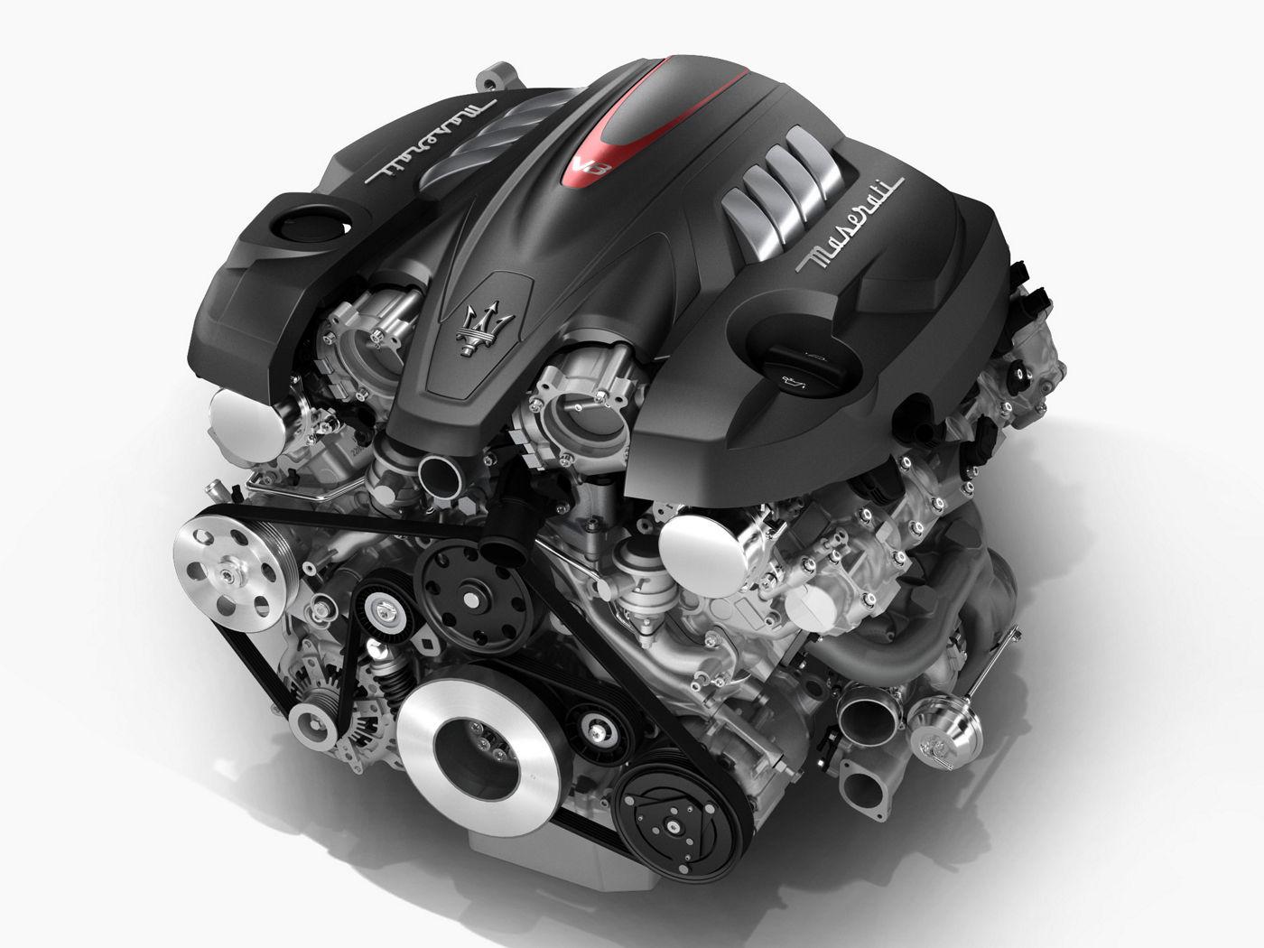Maserati's engine - V8 engine structure for Quattroporte GTS