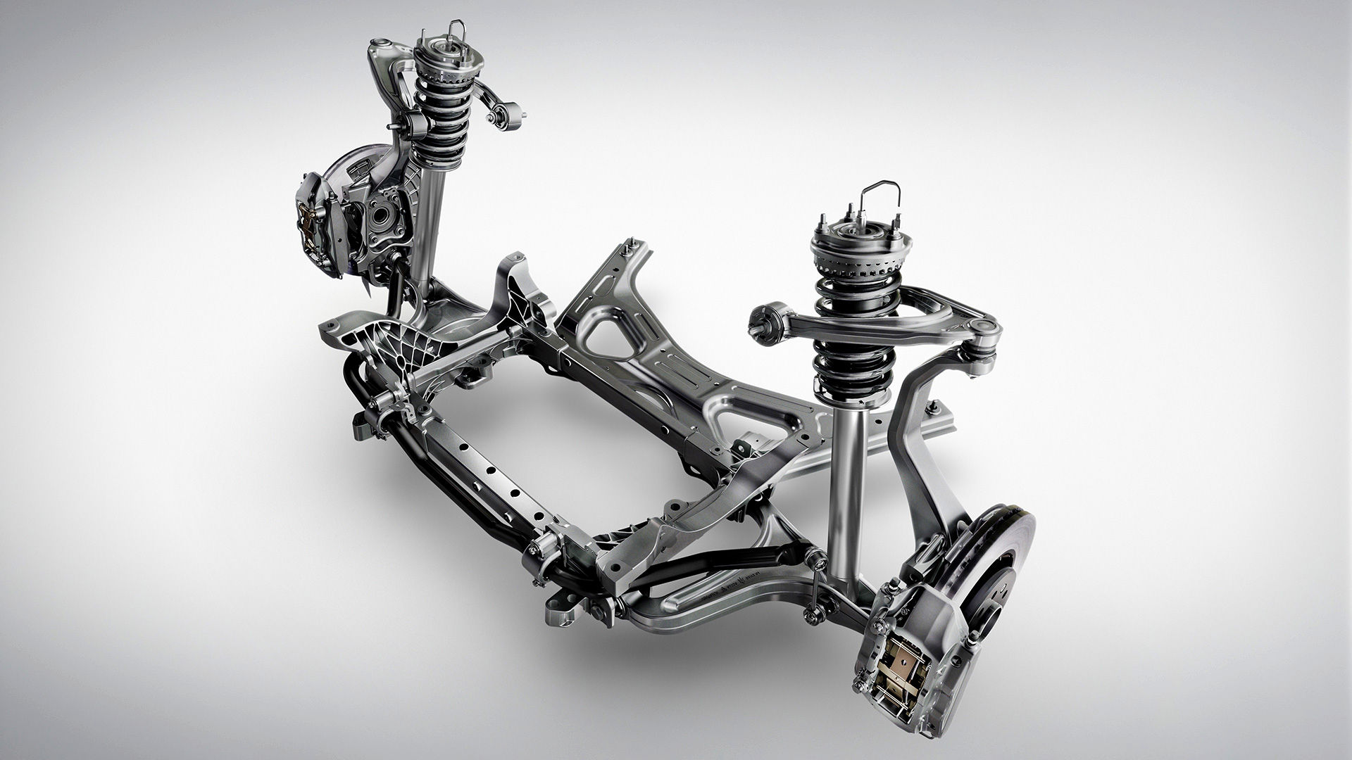Skyhook Radaufhängung - Maserati Ghibli