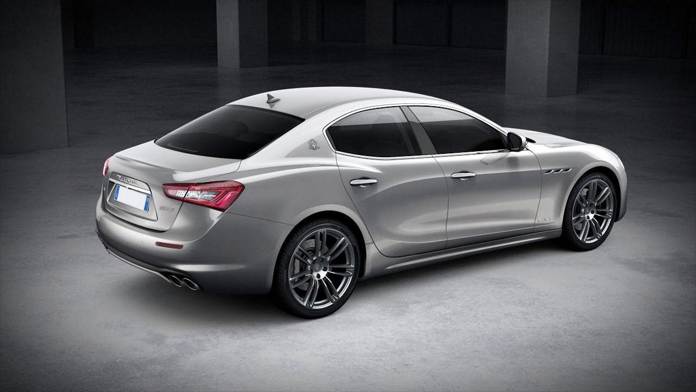 Maserati Ghibli GranLusso exterior – back view