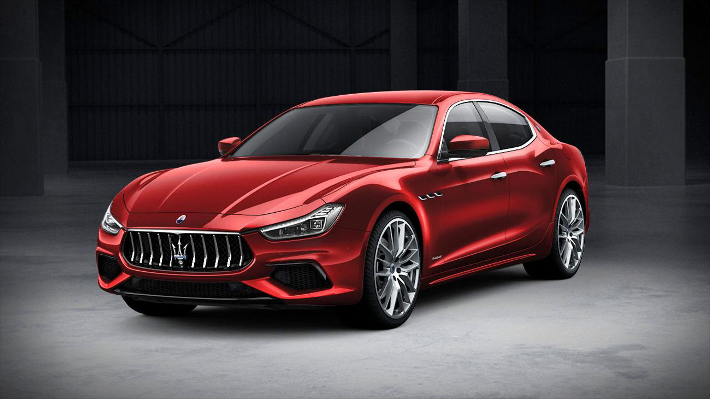 Maserati Ghibli GranSport exterior – front view