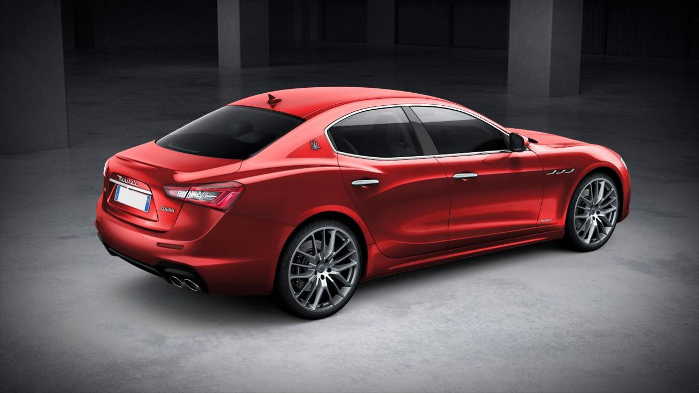 Maserati Ghibli GranSport exterior – back view