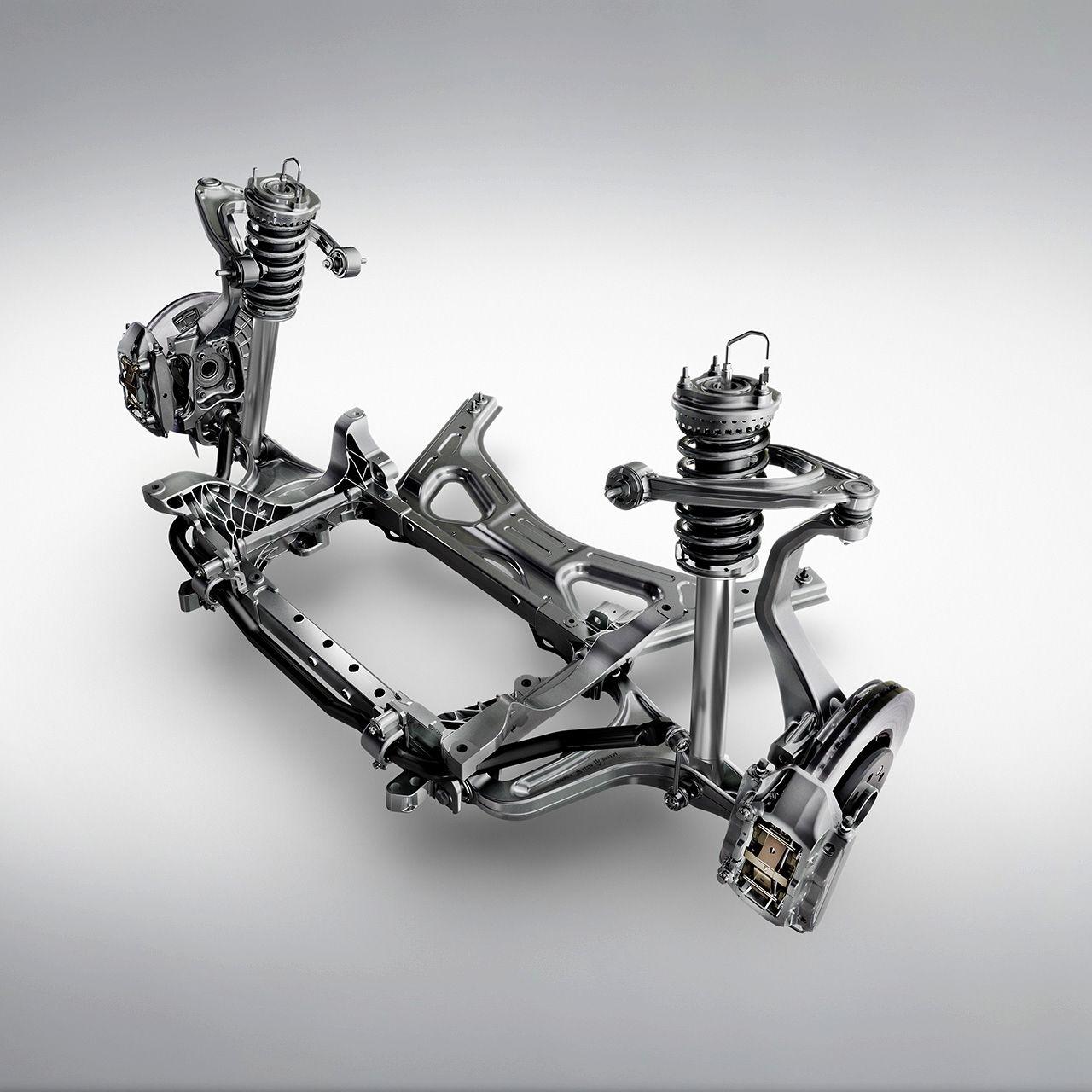 Skyhook Radaufhängung des Maserati Ghibli