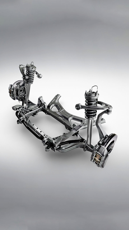 Maserati - Skyhook Radaufhängung