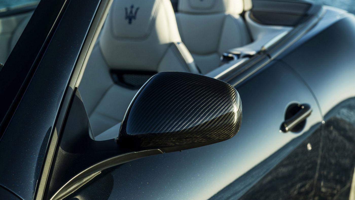 Maserati Cabriolet GranTurismo - Blu - Détail rétroviseur