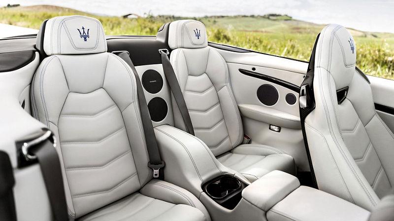 Maserati GranCabrio - Interieur - Ledersitze