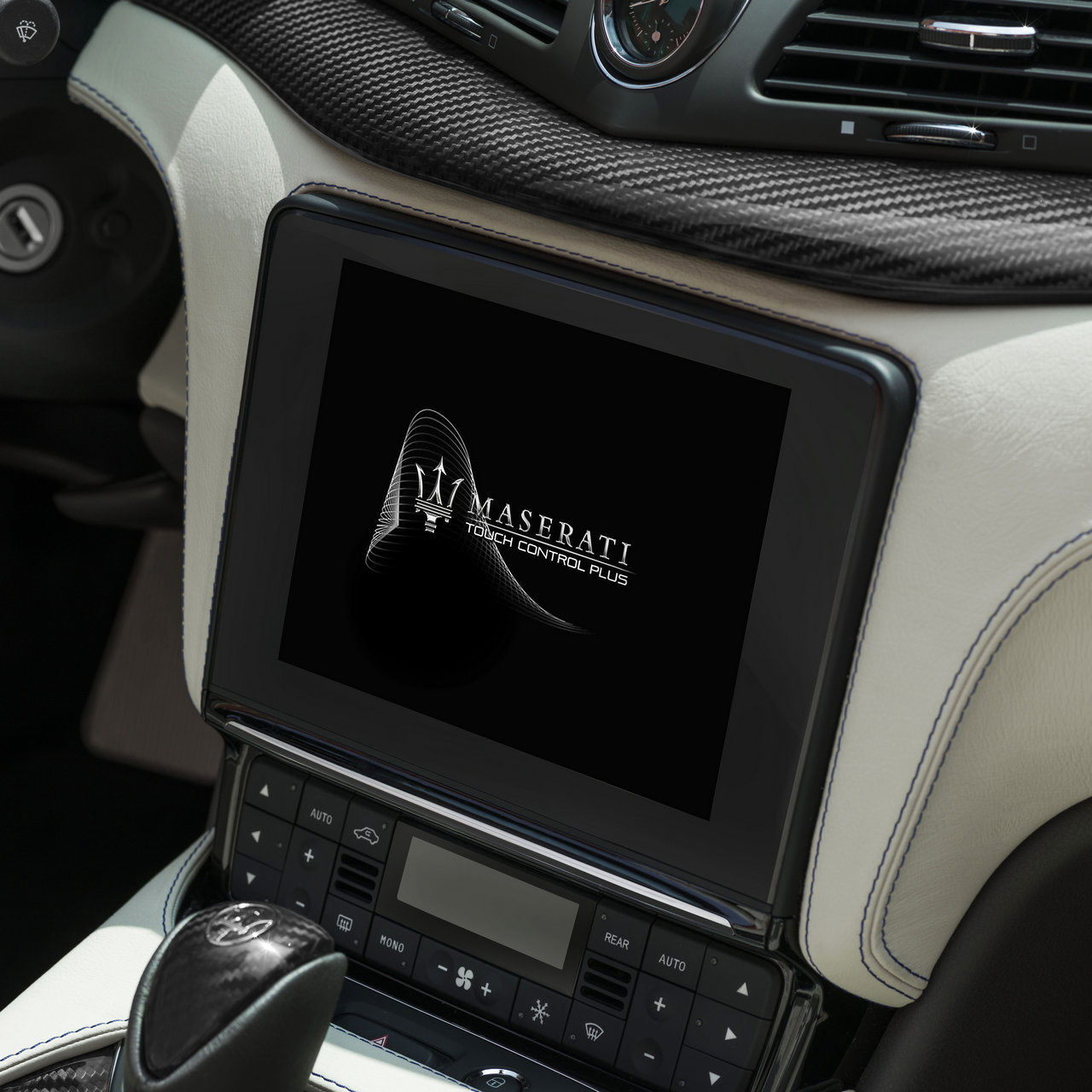 Maserati GranCabrio Innenausstattung - Display - Infotainment und App-Connectivity