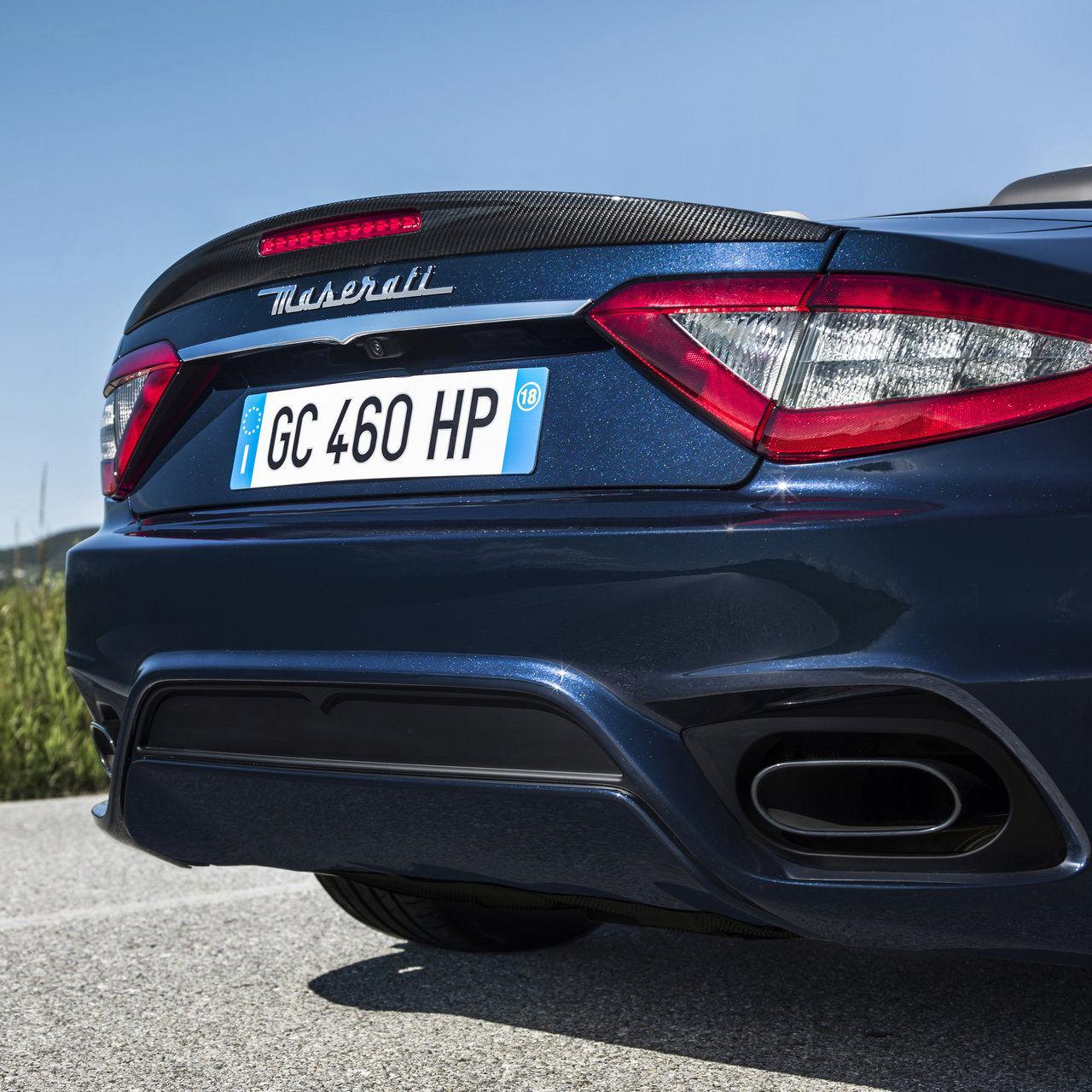 Maserati Cabriolet GranTurismo - Détail des sièges et intérieurs