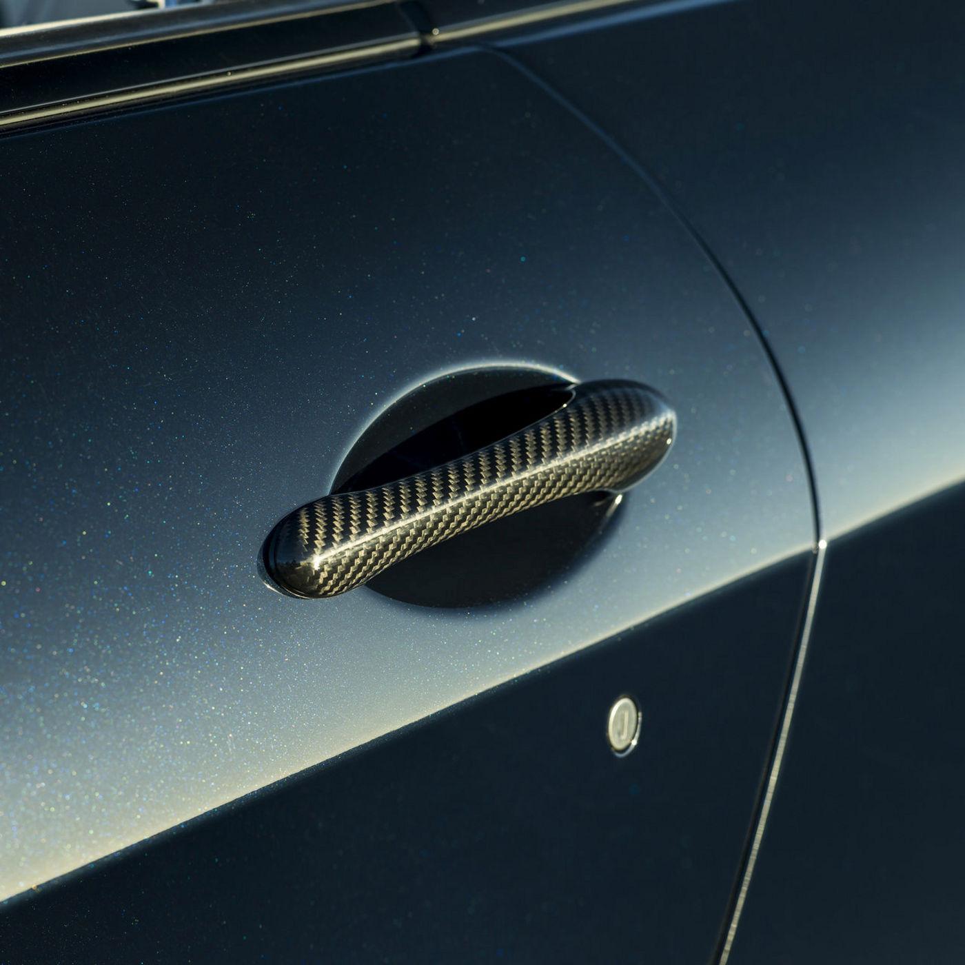 Maserati GranCabrio - Détail de la porte