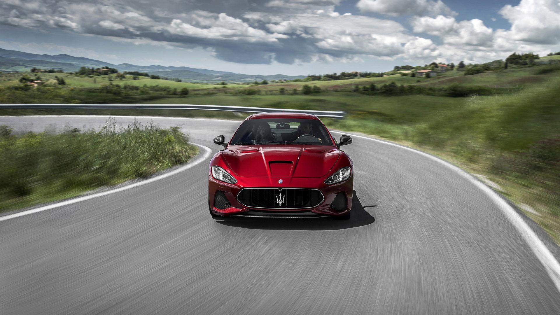Maserati GranTurismo - Rosso - Essai routier