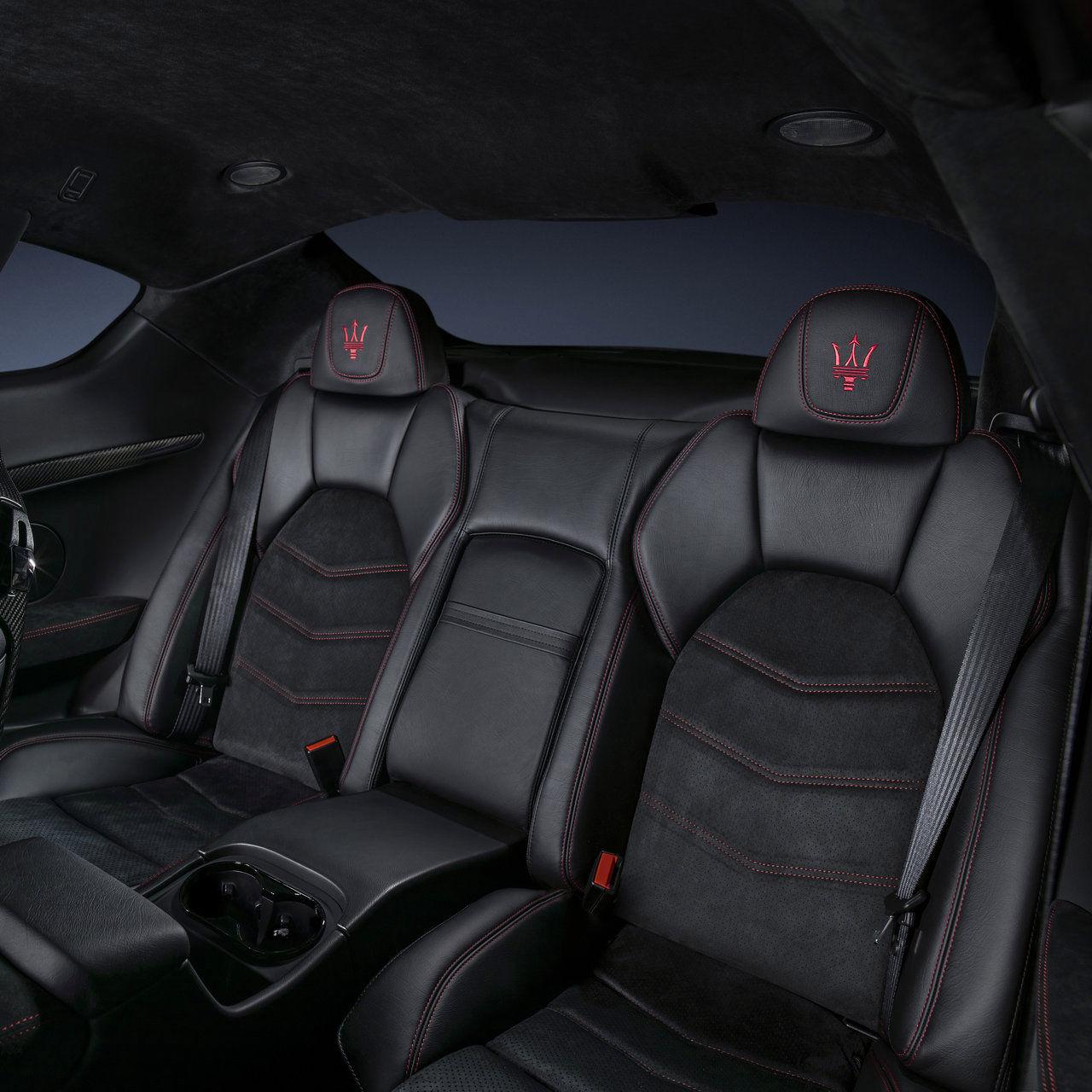 Maserati GranTurismo - Maserati Cabriolet GranTurismo - Design sellerie sièges arrière