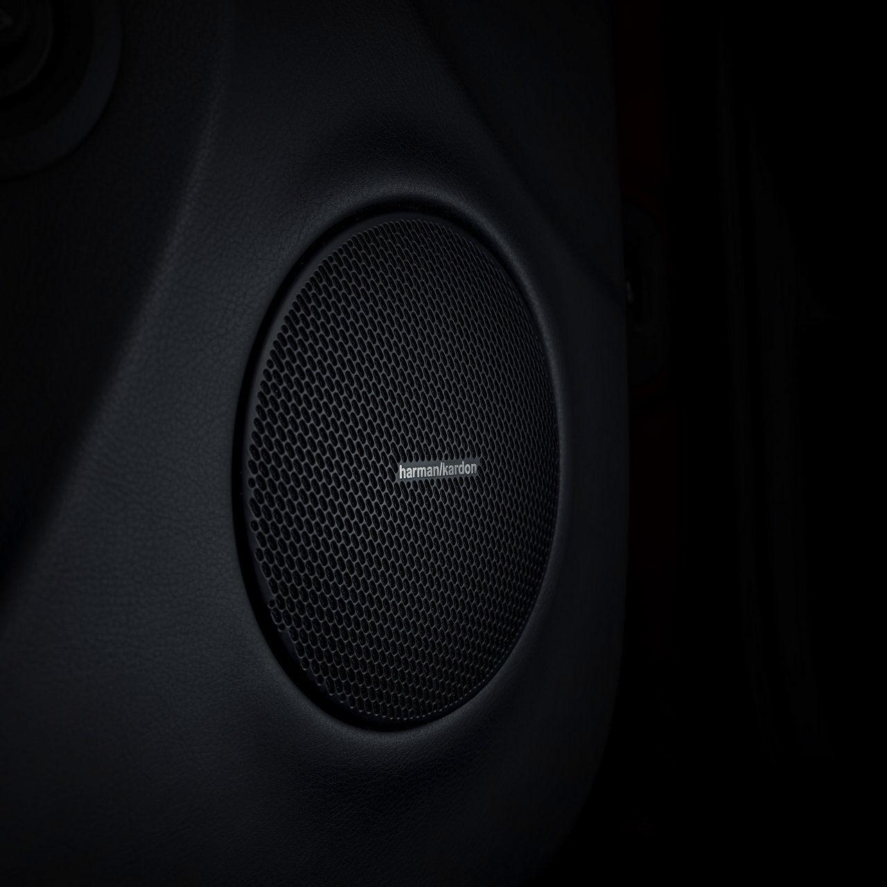 Maserati Auto Innenausstattung - Lautsprecher - Harman Kardon Premium-Audiosystem