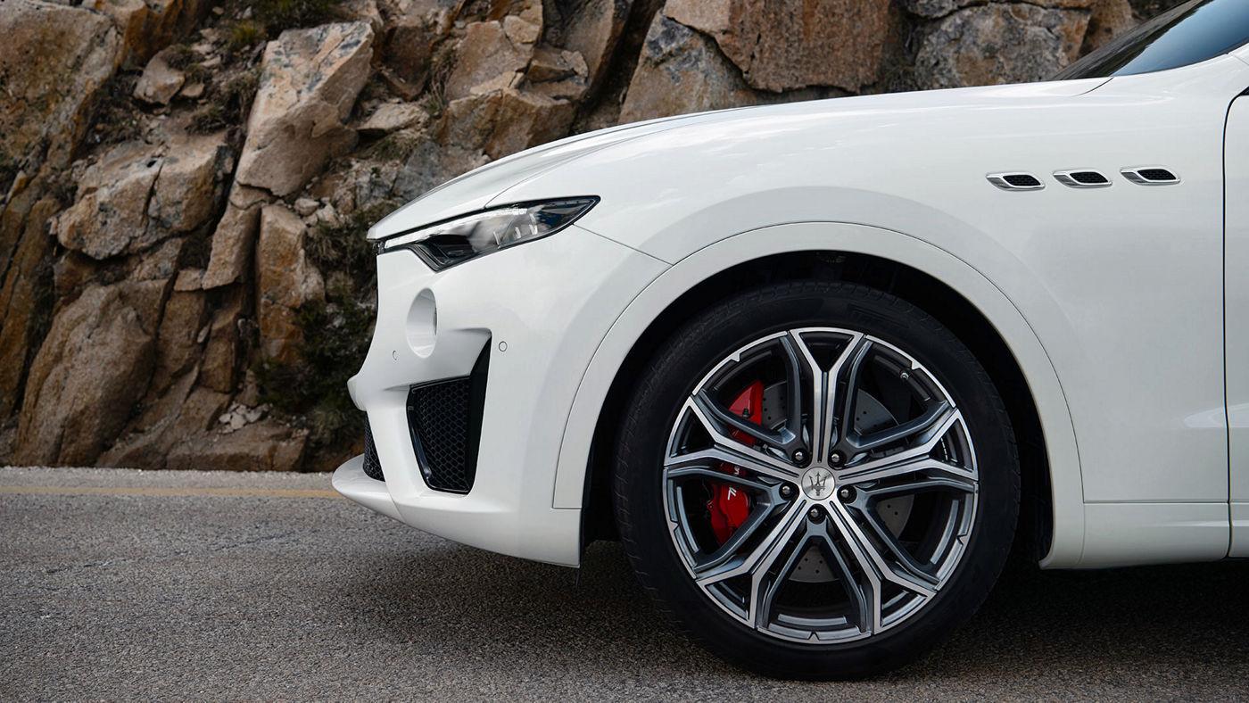 Maserati Levante VUS - SUP - Roue et capot - Bianco