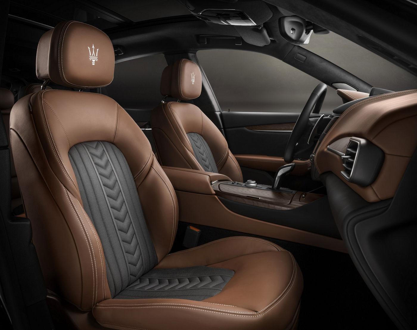Maserati Innenausstattung - Vordersitze von Ermenegildo Zegna
