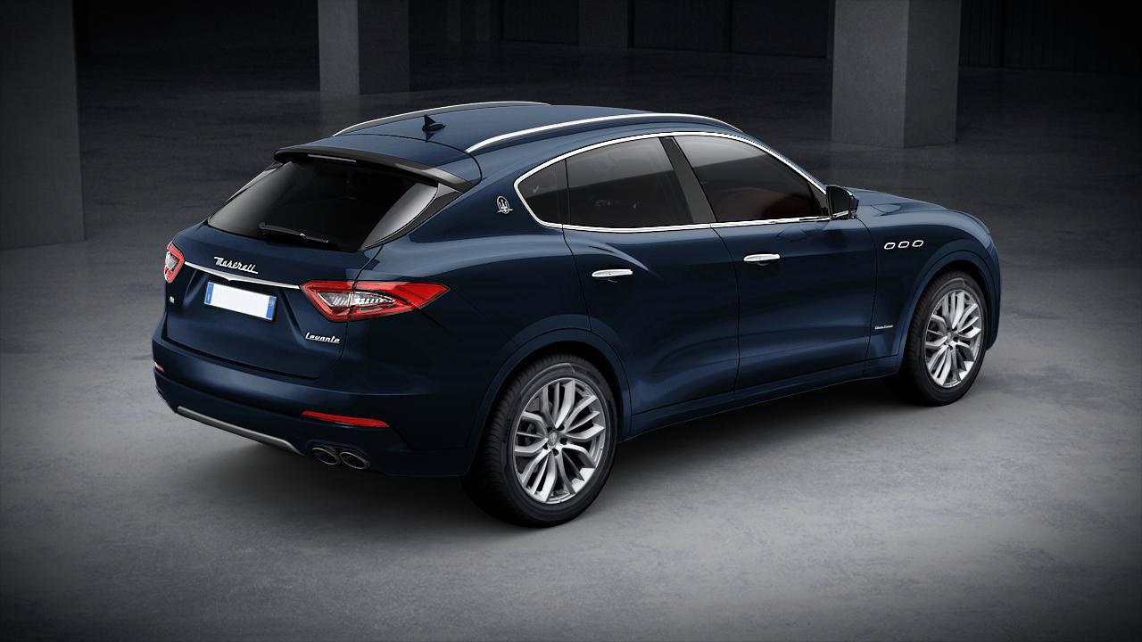 Maserati Levante GranLusso exterior – back view