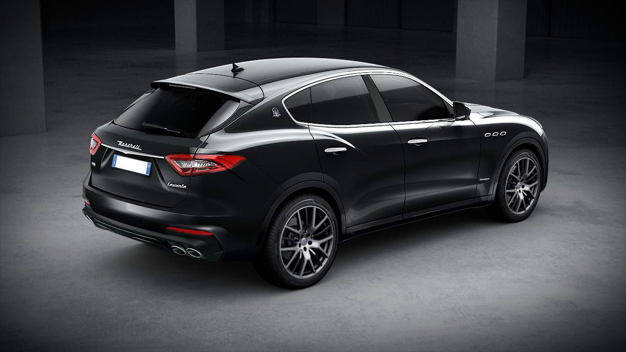 Maserati Levante GranSport exterior – back view