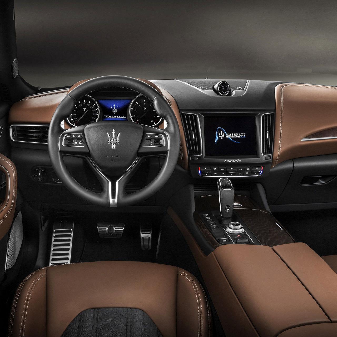 Maserati Levante VUS - Détail intérieur