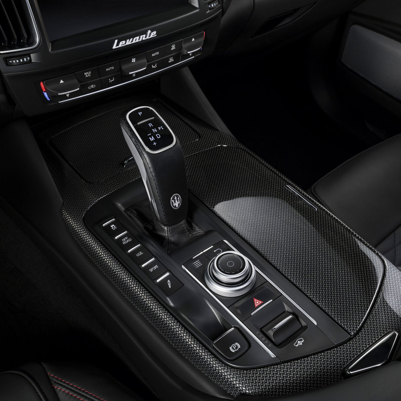 Maserati Levante - eight-speed automatic ZF transmission
