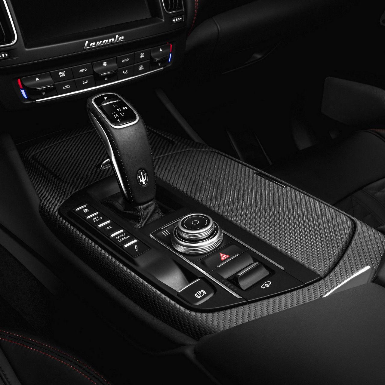 Maserati Levante Trofeo – shifter detail