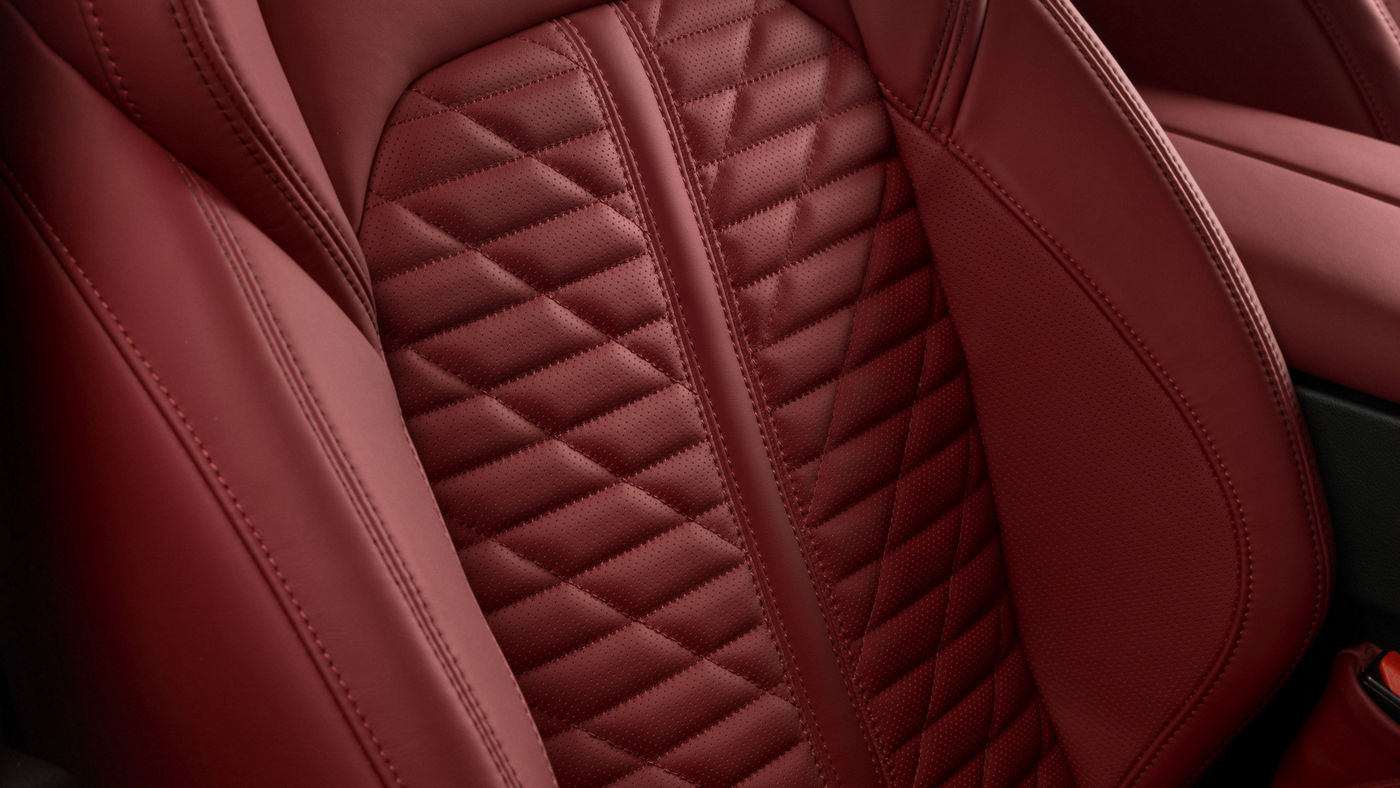 Quattroporte GTS – detail of the seats upholstery