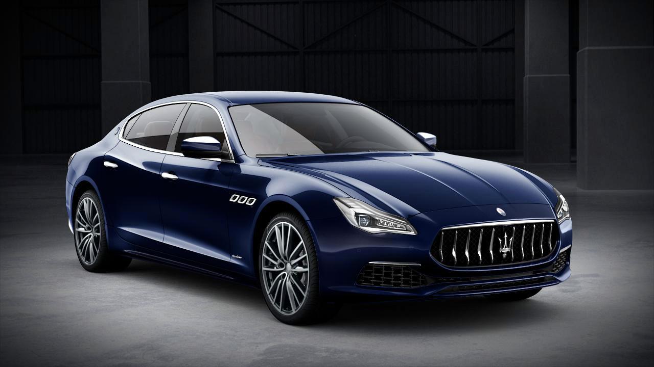 Maserati Quattroporte GranLusso exterior – front view