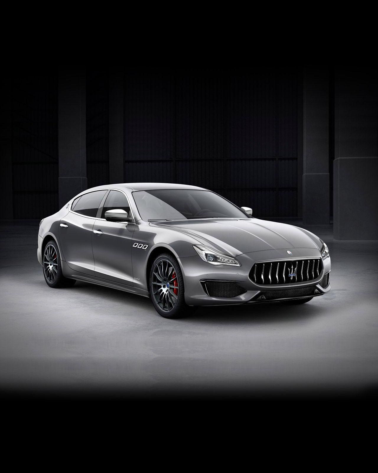 Maserati Quattroporte GranSport exterior – front view