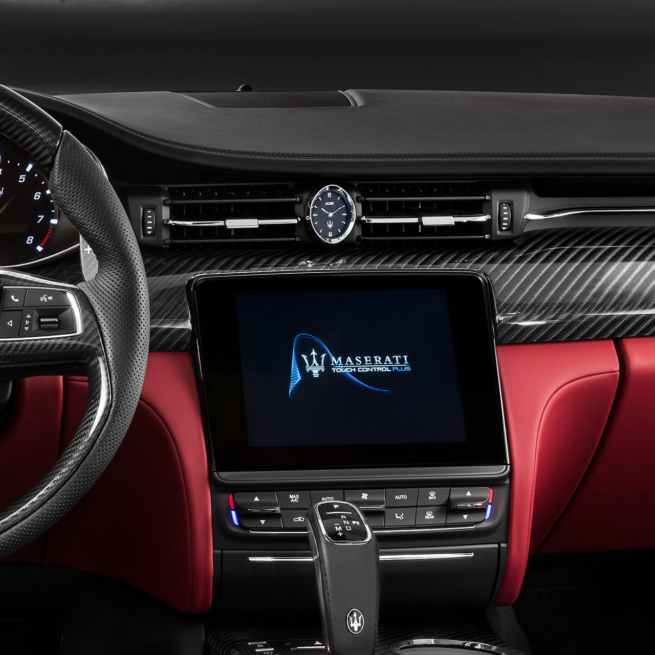 Maserati Quattroporte Innenausstattung - Display - Infotainment und App-Connectivity
