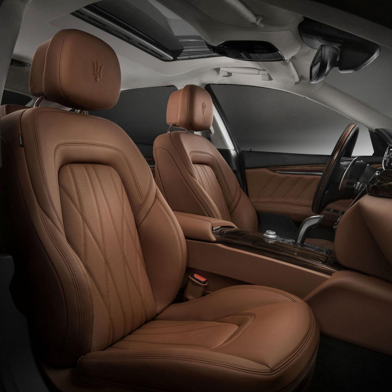 Maserati Quattroporte Innenausstattung - Vordersitze