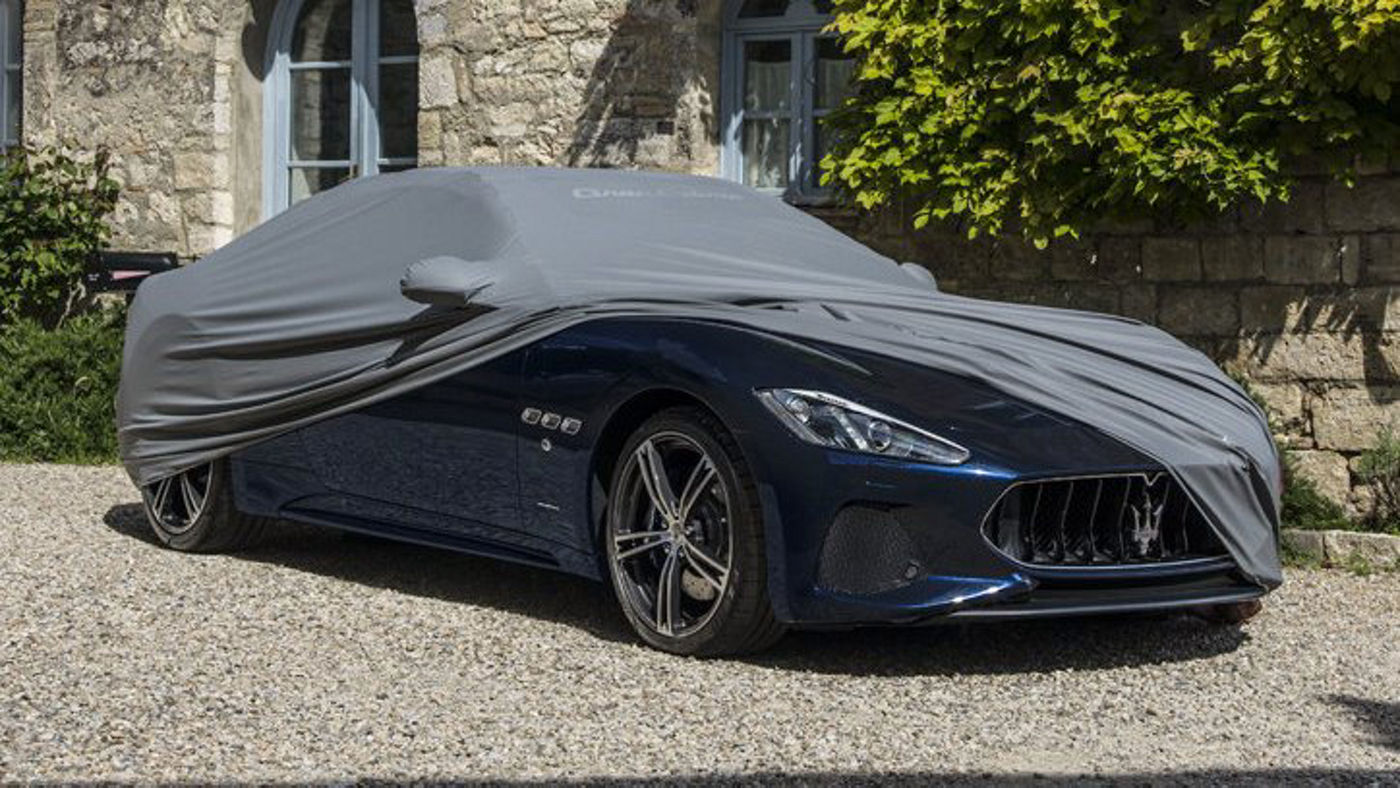 Maserati GranCabrio - accessories, the car cover
