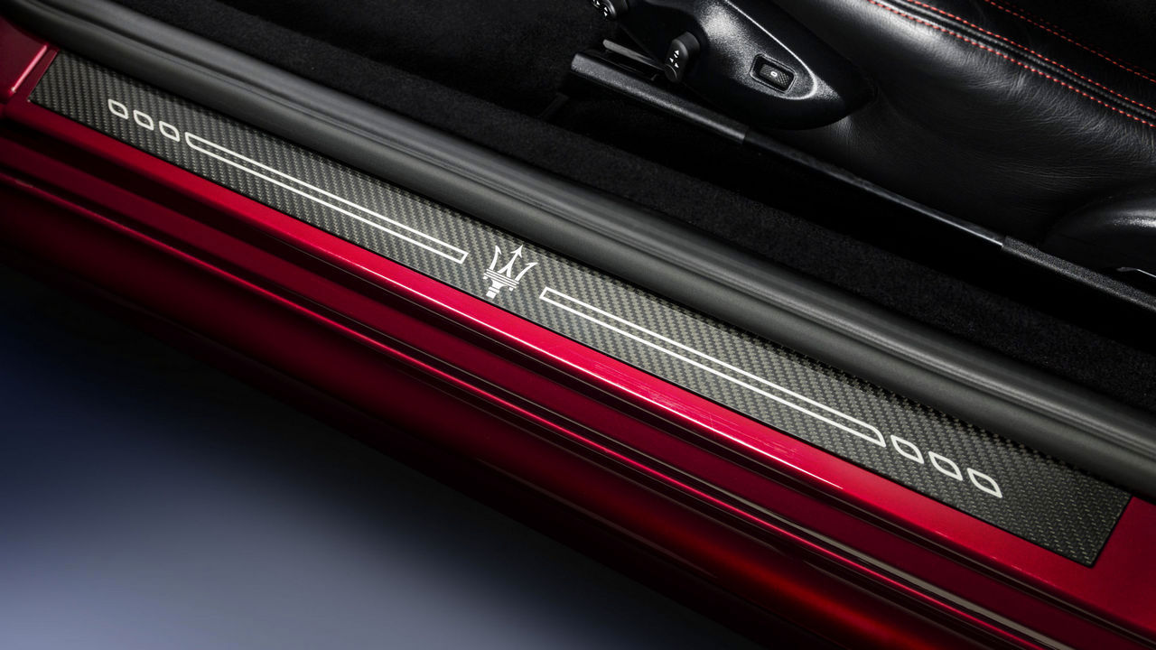 Maserati GranTurismo Originalzubehör - Autotür Detail
