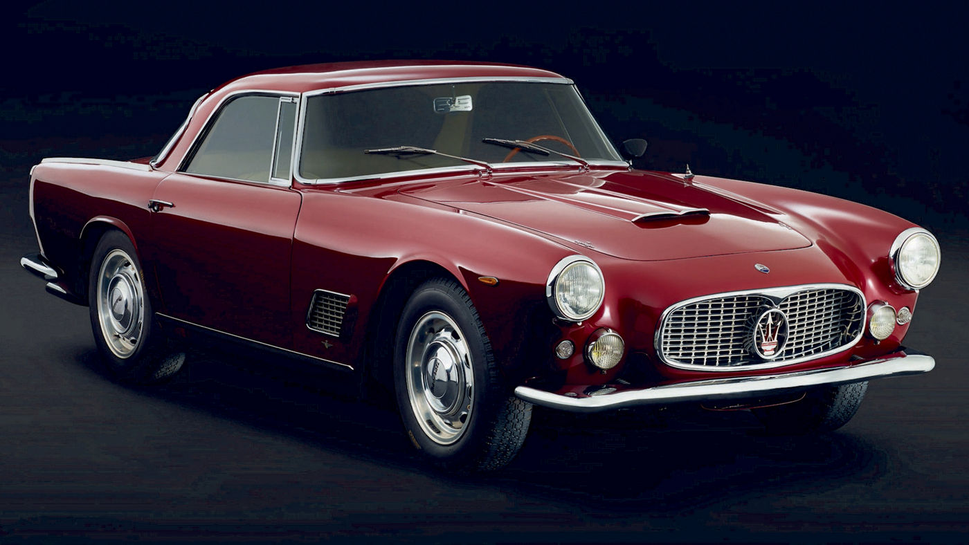 The classic Maserati car 3500 GT, GranTurismo model's ancestor