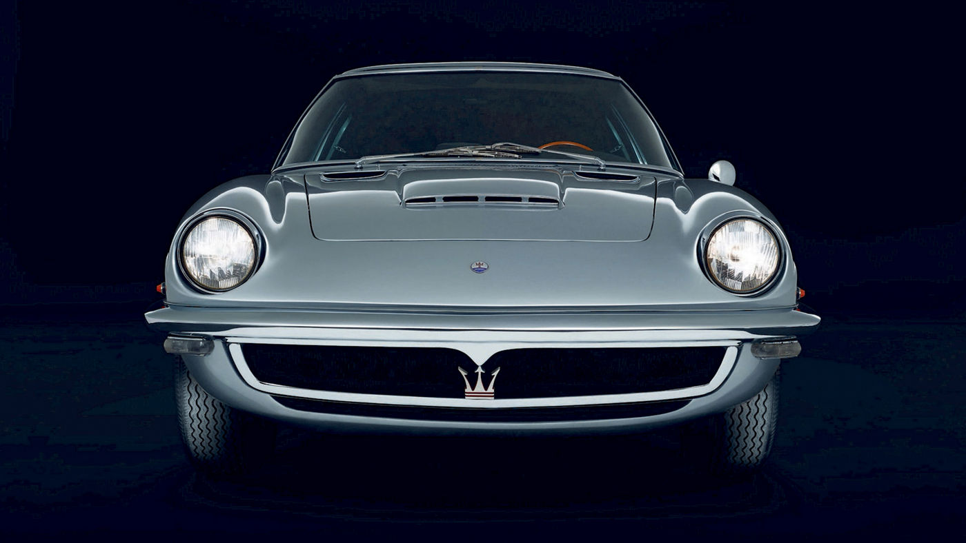 The iconic classic car Maserati GT Mistral - 1963
