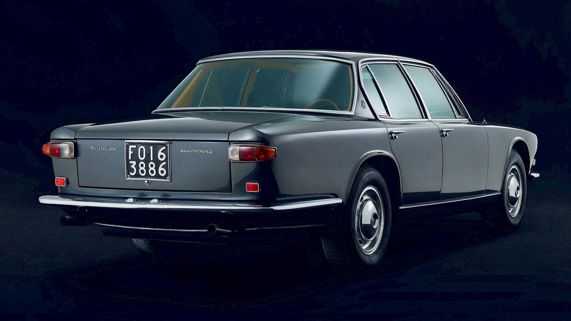 Erster Maserati Quattroporte - Klassische Maserati Automobile