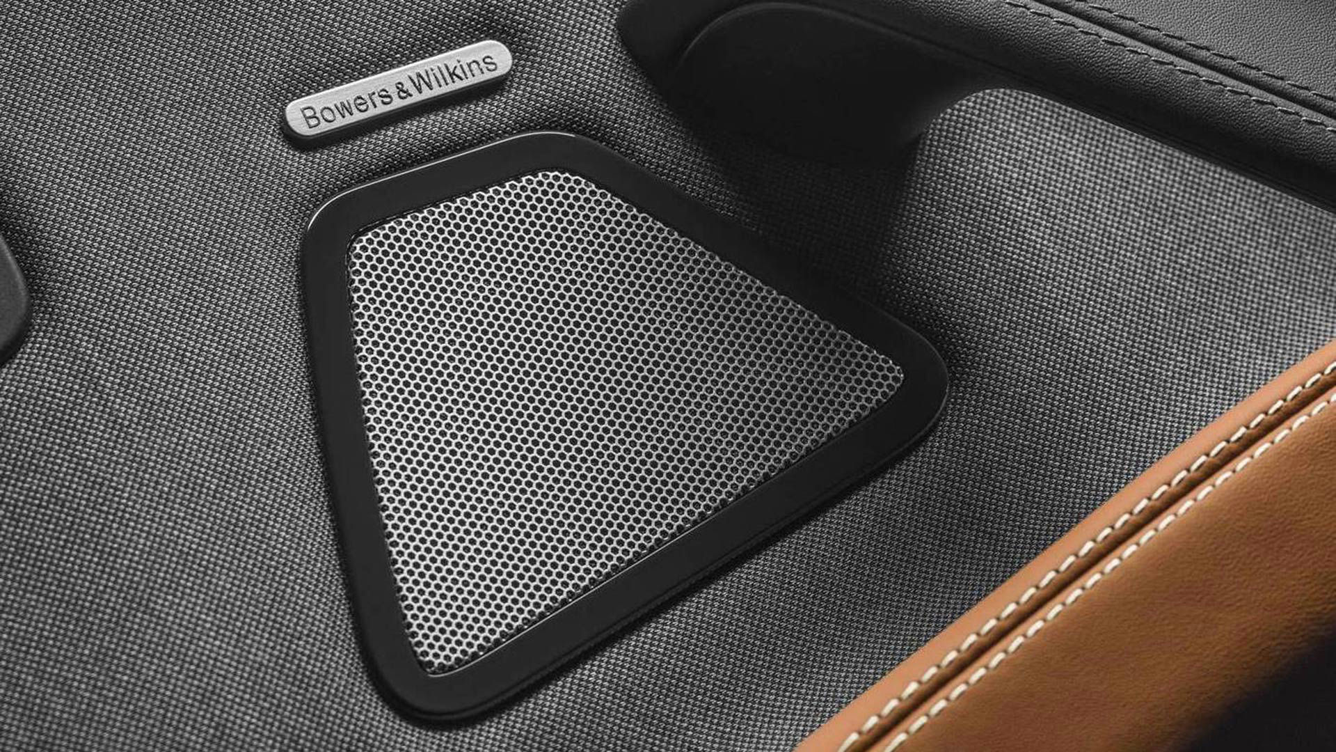 Bowers & Wilkins Lautsprecher in Maserati - Detailansicht