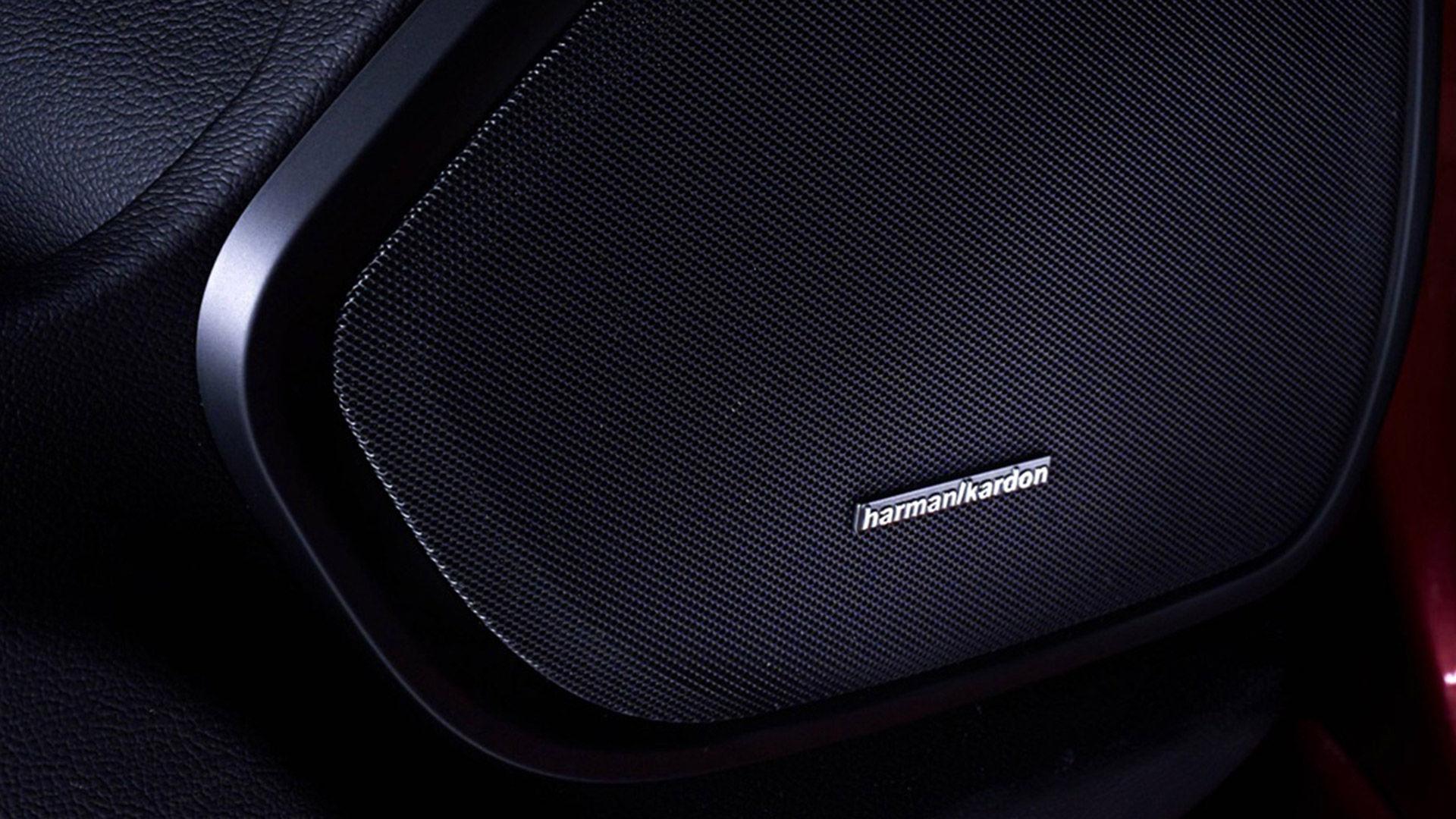 Harman Kardon Lautspreche in Maserati - Detailansicht
