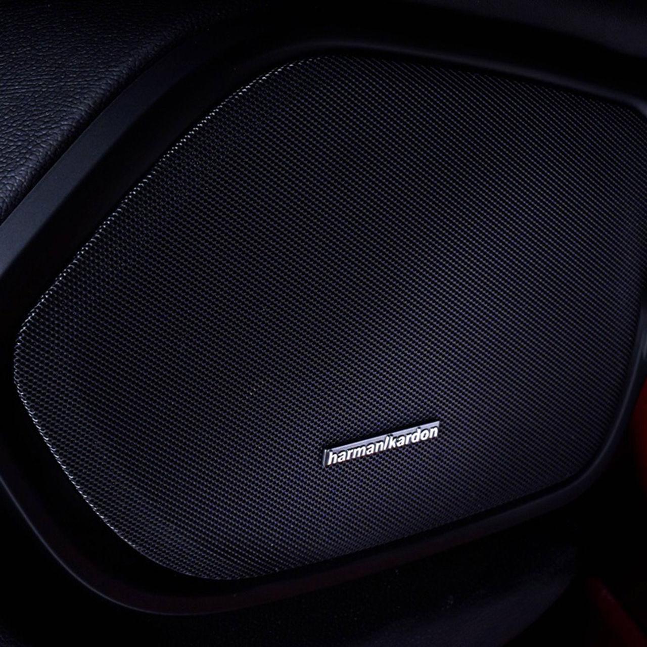 Harman Kardon Lautspreche in Maserati - Detailansicht 3