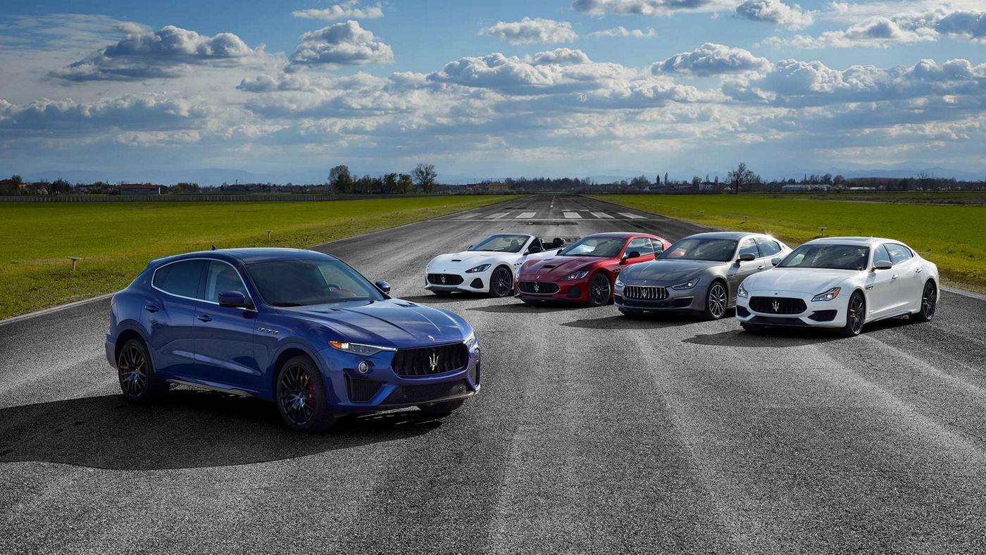 All Maserati models test drive
