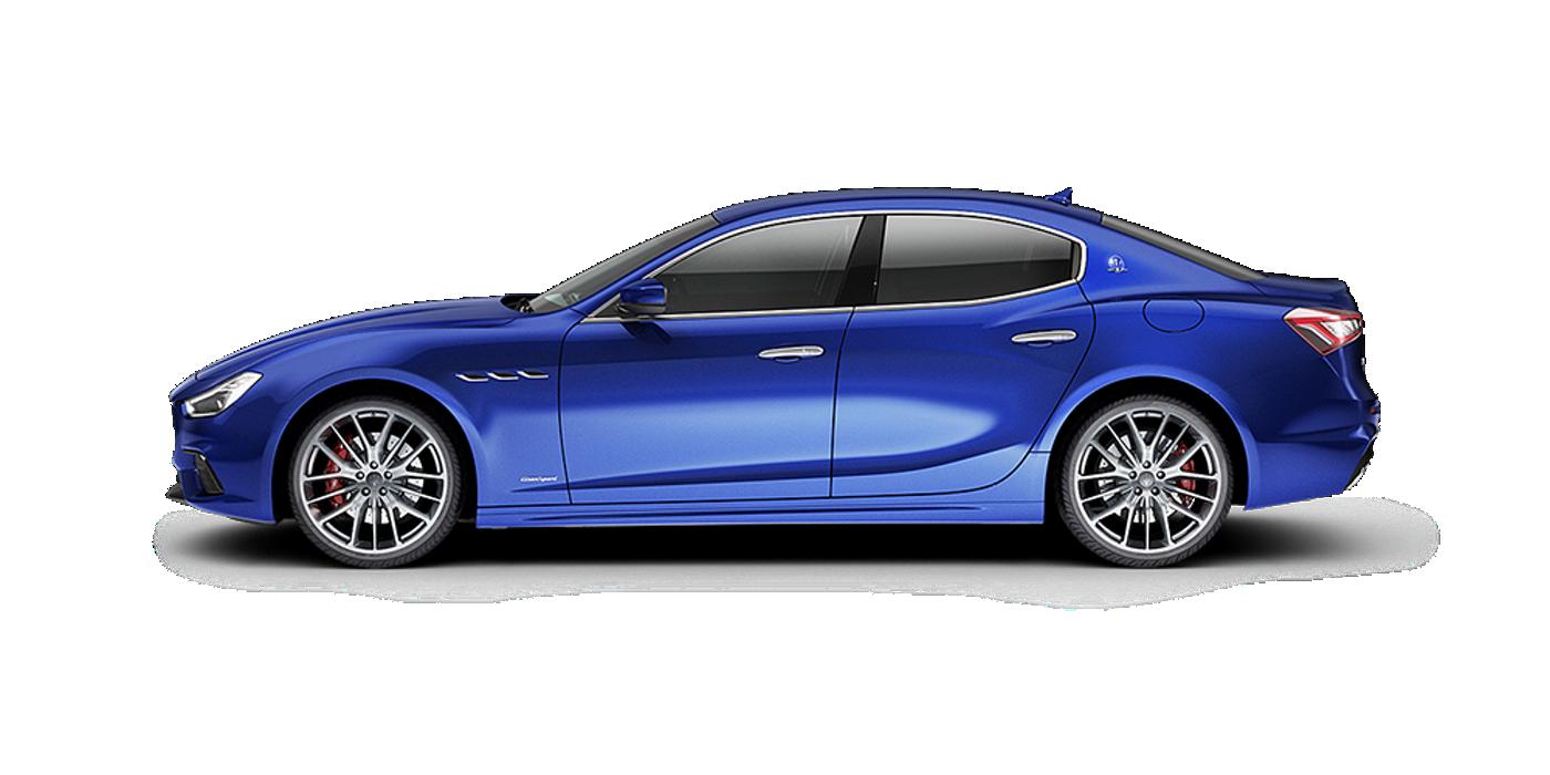 Maserati Ghibli colore Bianco - Vista laterale