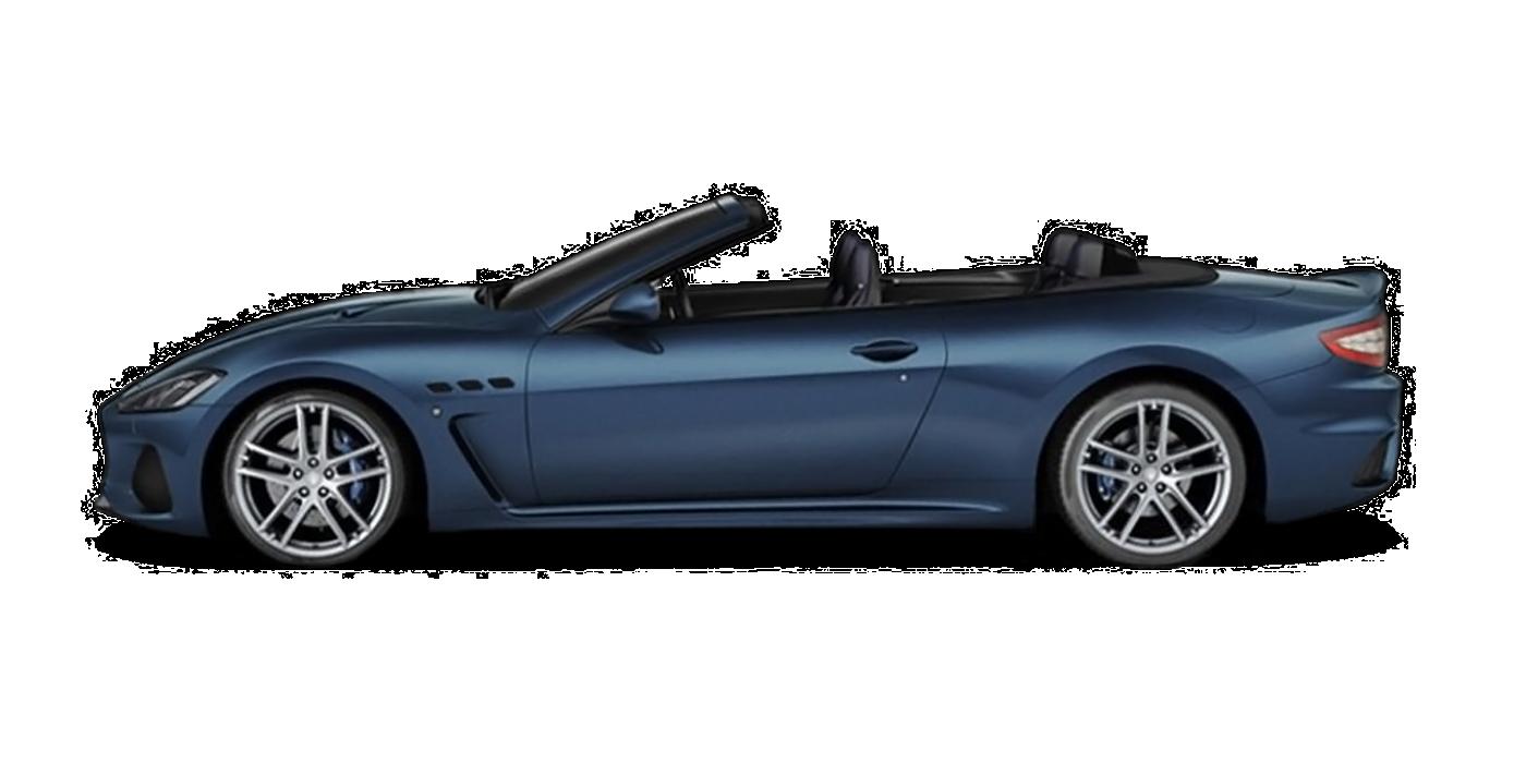 Blu Sofisticato Farbe Maserati GranCabrio Modell