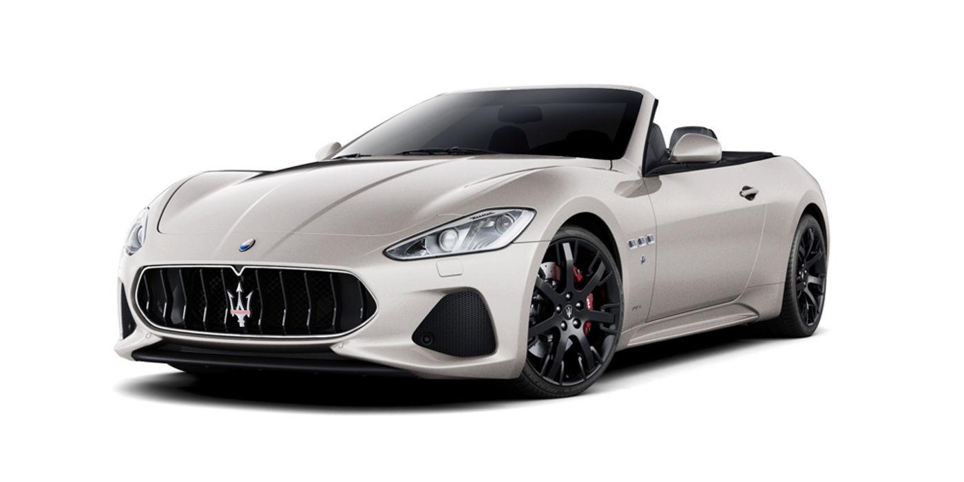 Maserati GranCabrio Sport Bianco Alpi