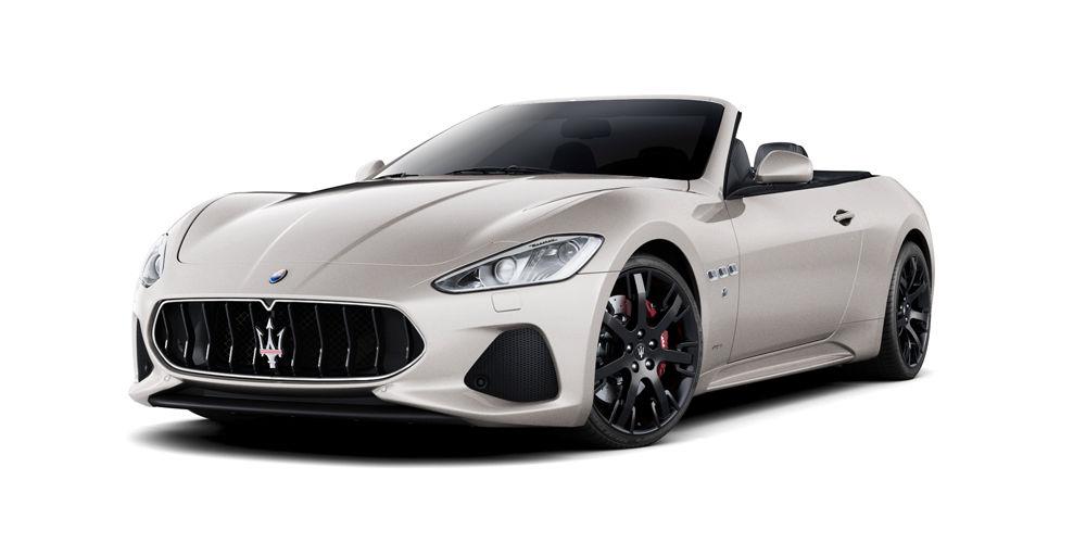 Maserati Cabriolet GranTurismo Convertible Sport - Bianco