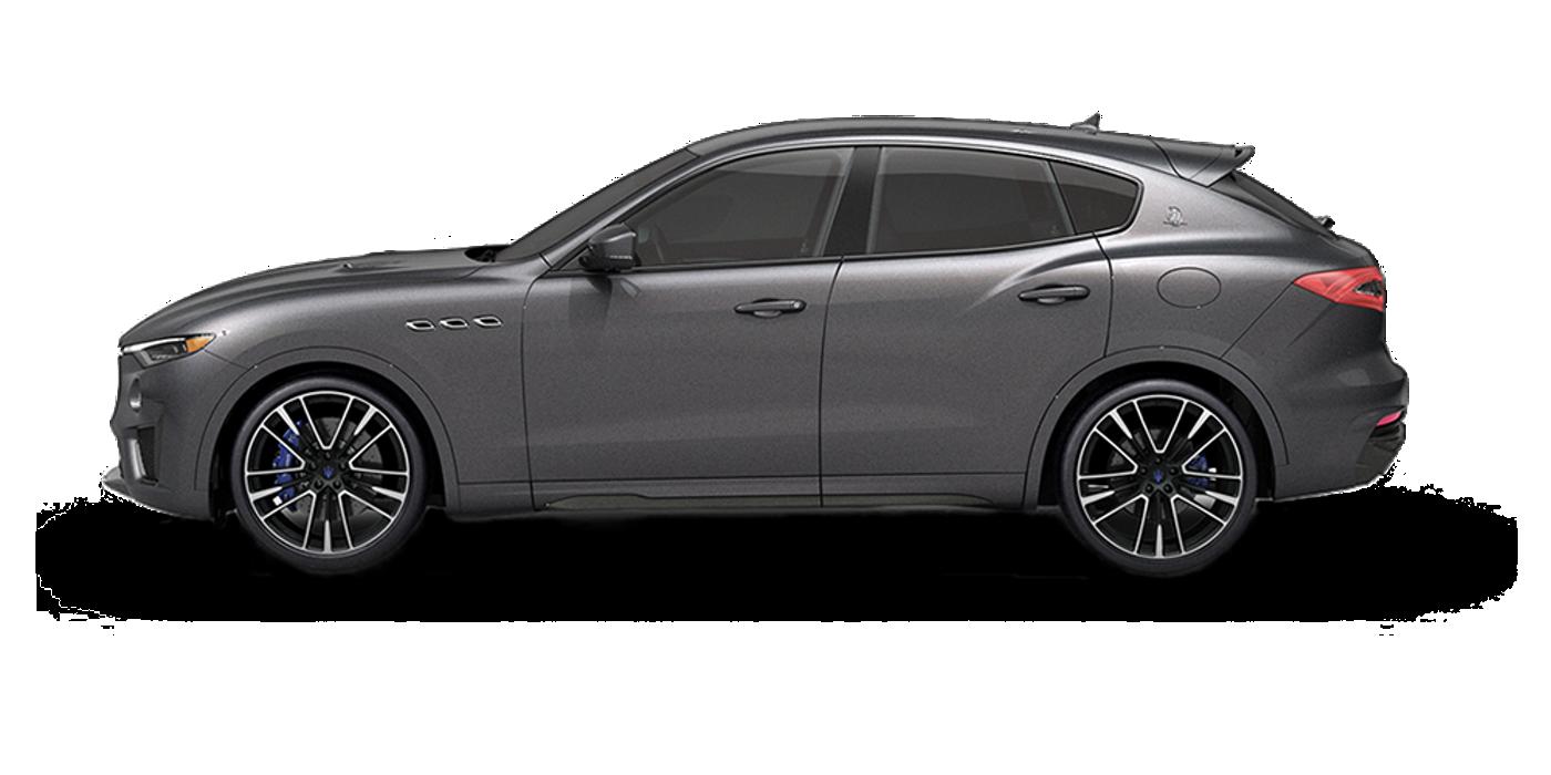 Maserati Levante colore Grigio Maratea - Vista laterale del modello