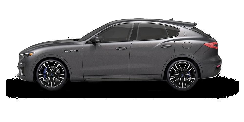 Maserati Levante - Carrosserie couleur Grigio Maratea - Vue de profil