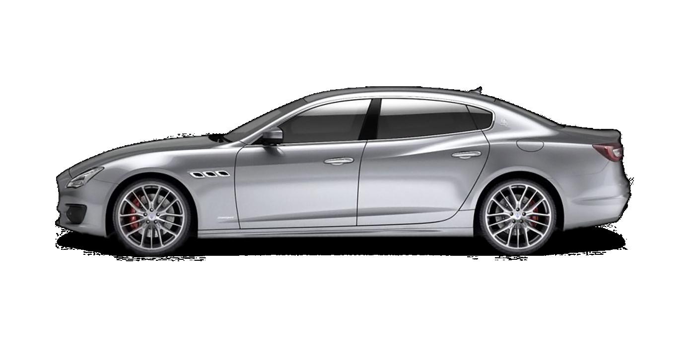 Maserati Quattroporte colore Grigio - Vista laterale del modello