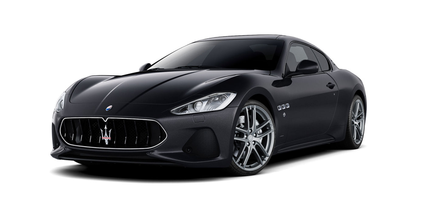 Maserati GranTurismo Sport in Nero color