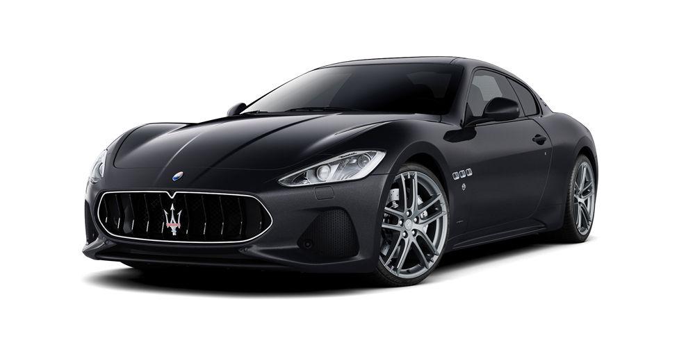 Maserati GranTurismo Sport in Nero color