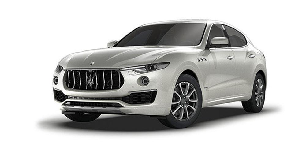 Maserati Levante in Bianco Alpi color