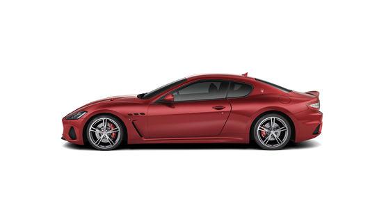 Maserati GranTurismo MC Rossa - studio, vista laterale