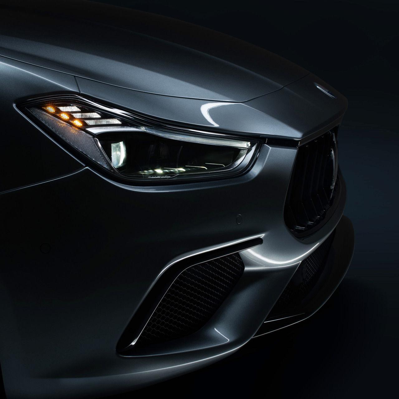 Maserati Ghibli - Frontansicht - Scheinwerfer